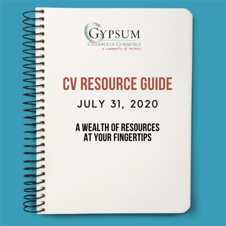 Gypsum Chamber's CV-19 Resource Guide updated July 31, 2020