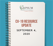 Gypsum Chamber CV-19 Updates from Eagle County September 4 2020